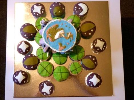 Discworld cupcakes