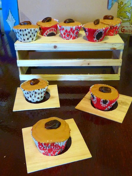 Dates & Caramel cupcakes