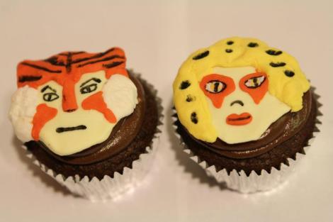 Tigra Cheetara cupcakes