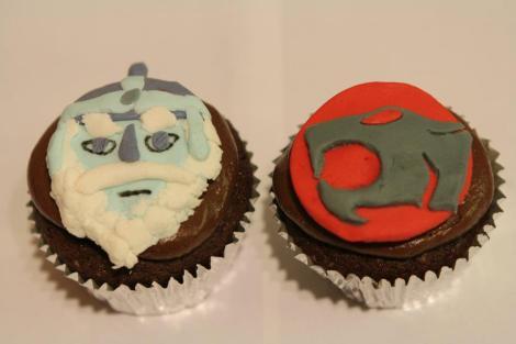 Jaga Thundercats cupcakes