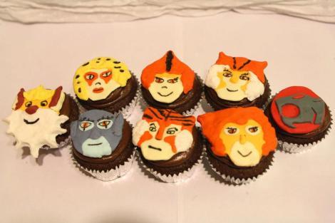Thundercats cupcakes
