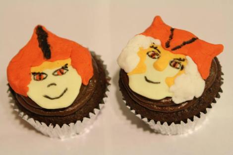 Wilykit Wilykat cupcakes