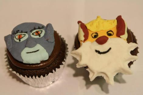 Panthro and Snarf cupcakes