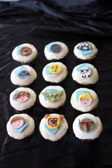 Starwar cupcakes