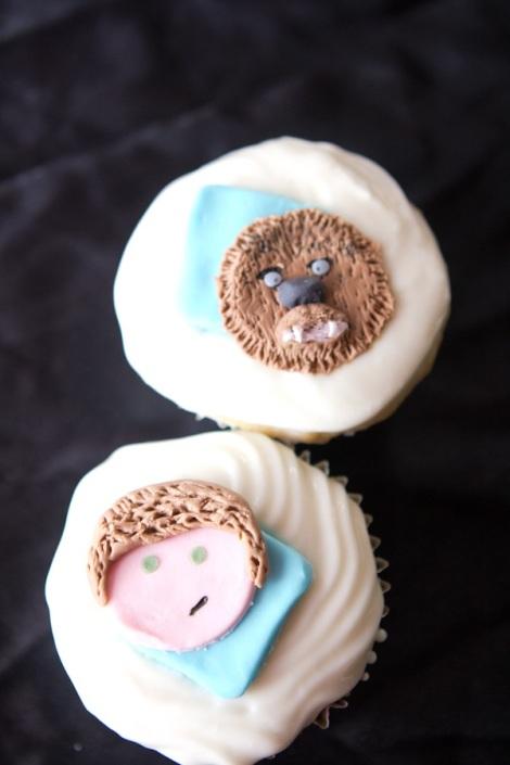 Han Chewbacca Starwars cupcakes