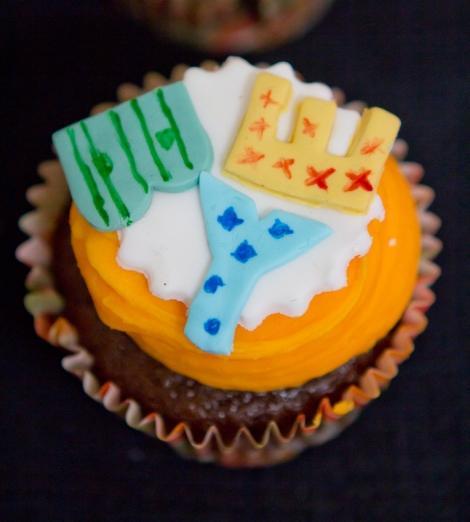 Bye orange cupcakes