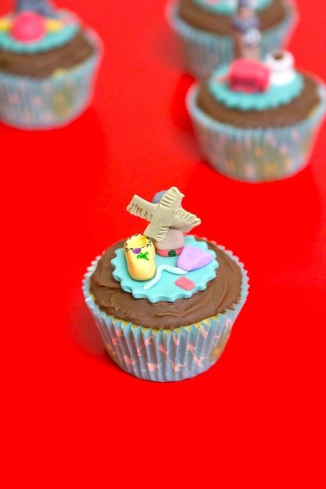 Netherlands cupcake