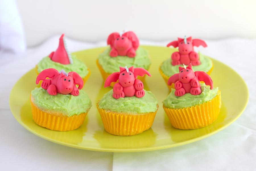 Dragon cupcakes | Cupcaketeer