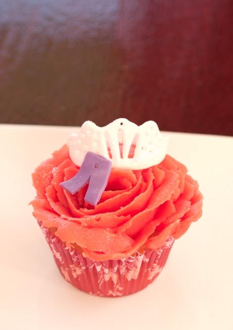 Glamour cupcake