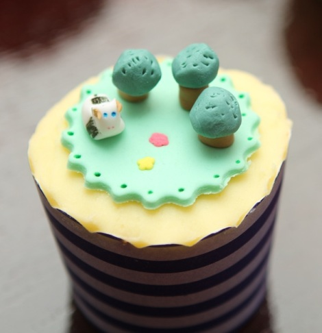 Forrest  agriculture cupcakes
