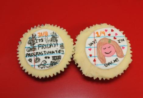 memo cupcakes