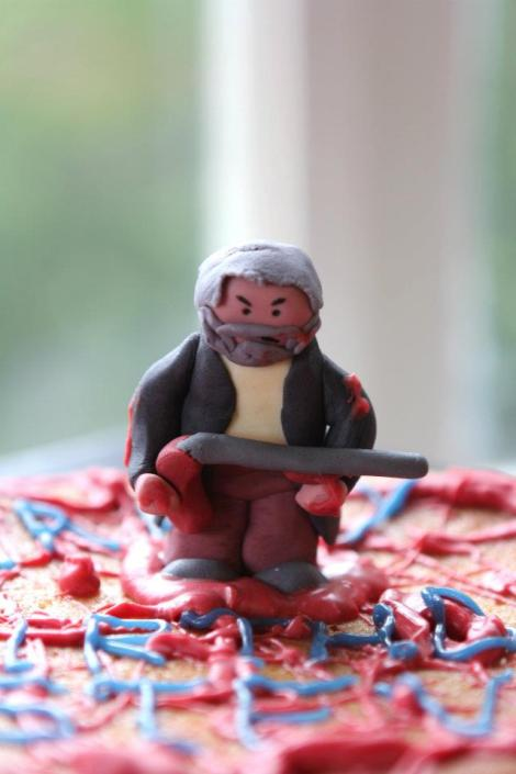 hobo with a shotgun cake