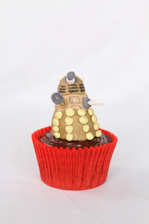 Doctor Who cupcakes by Cupcaketeer