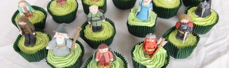 Lord of the rings cupcakes by Cupcaketeer