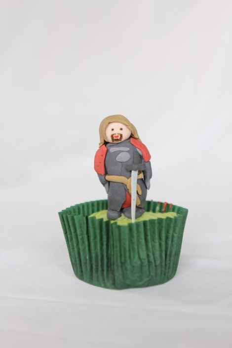 Lord of the rings Boromir cupcakes by Cupcaketeer