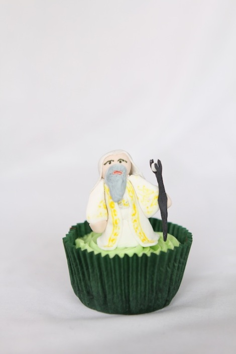 Lord of the rings Sauron cupcakes by Cupcaketeer