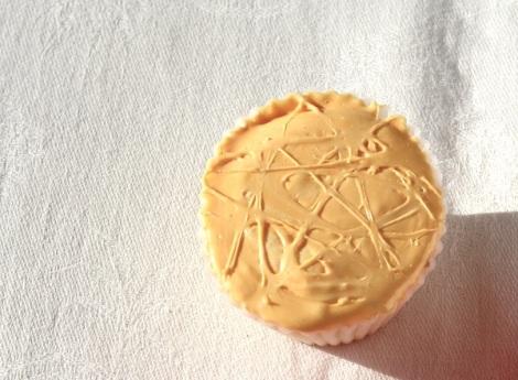 Mango Marshmallow cupcake