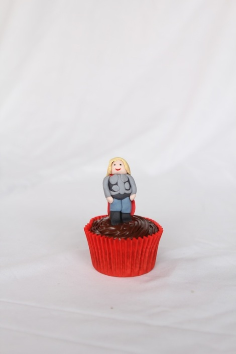 Thor -The Avengers cupcakes by Cupcaketeer