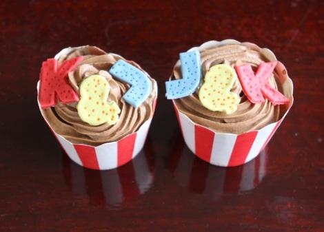 Housewarming cupcakes by Cupcaketeer.com