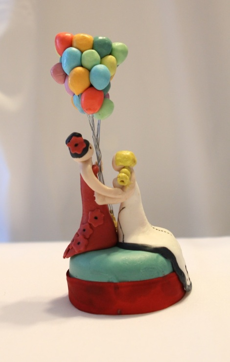 Same sex LGBT wedding topper
