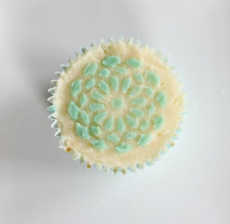 Lemon Strawberry cupcakes